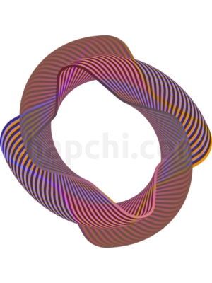 Abstract Neon Shape